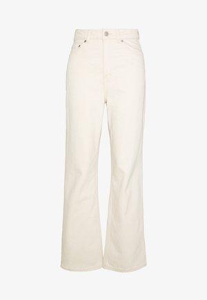 ROWE - Jeans Straight Leg - ecru beige dusty light