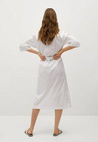 Mango - Košilové šaty - white - 1
