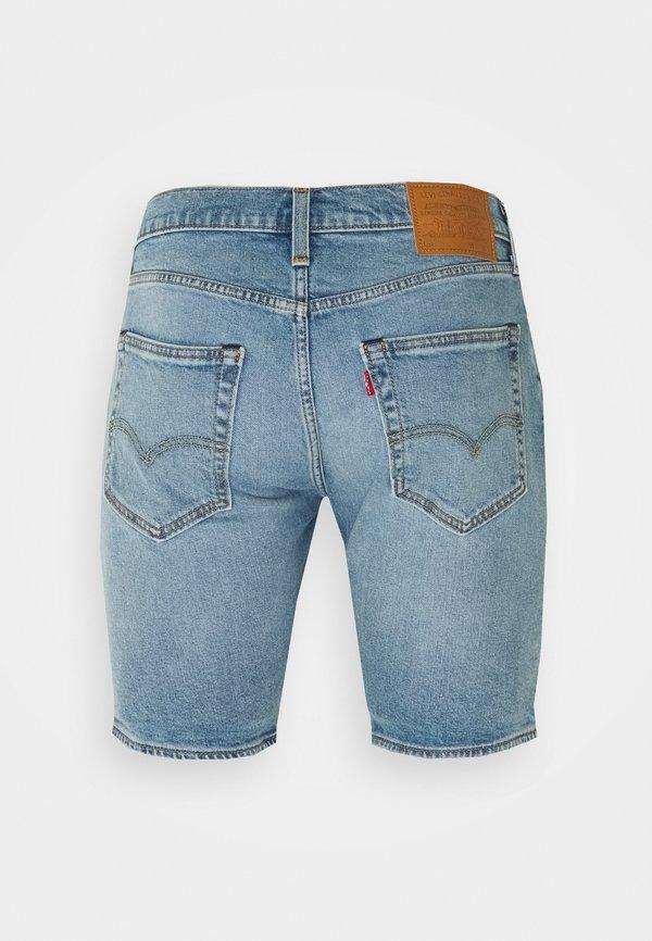 Levi's® 412™ SLIM SHORT - Szorty jeansowe - light-blue denim/jasnoniebieski Odzież Męska HFHP