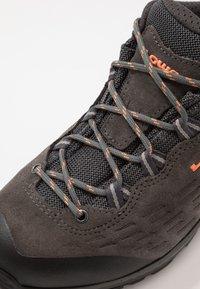 Lowa - LOWA® EXPLORER - Hiking shoes - anthrazit/koralle - 5