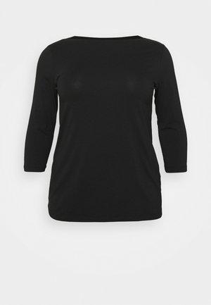 MLELNORA 3/4 - Top sdlouhým rukávem - black