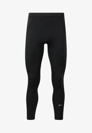 RUNNING ESSENTIALS SPEEDWICK REECYCLED - Leggings - black