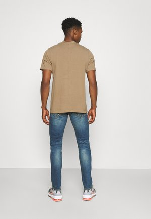 ONSLOOM LIFE SLIM BLUEDAMAGE  - Slim fit jeans - blue denim