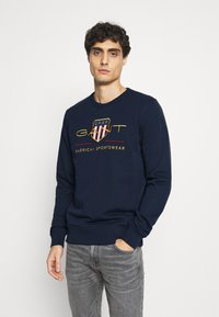 GANT - ARCHIVE SHIELD  - Sweatshirt - evening blue - 0