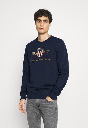 ARCHIVE SHIELD  - Sweatshirt - evening blue