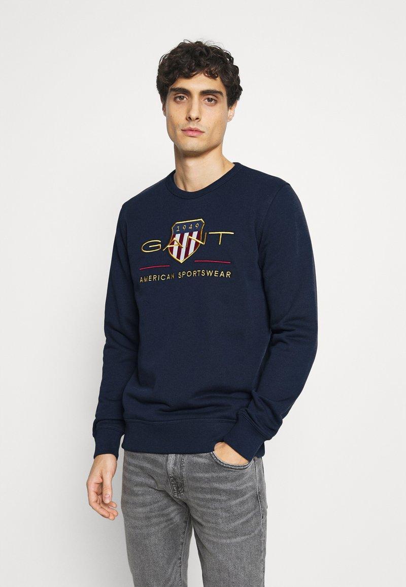 GANT - ARCHIVE SHIELD  - Sweatshirt - evening blue