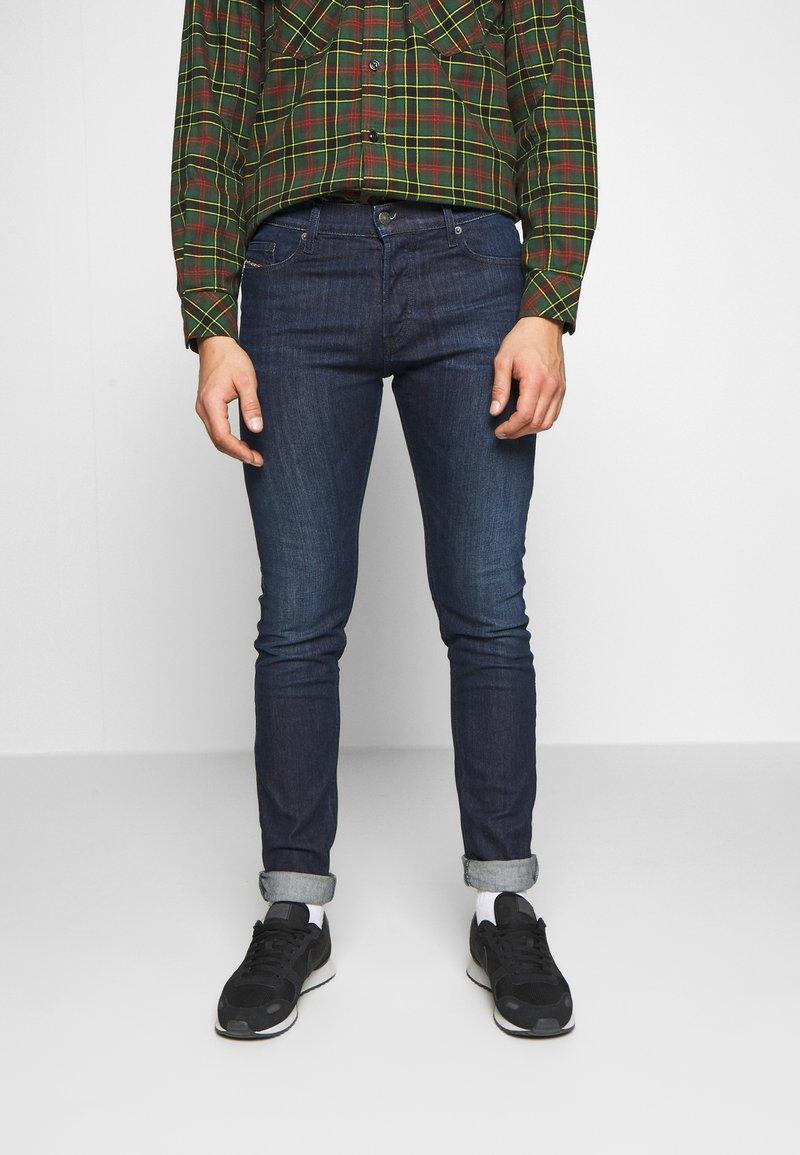 Diesel - D-LUSTER - Slim fit jeans - dark-blue denim