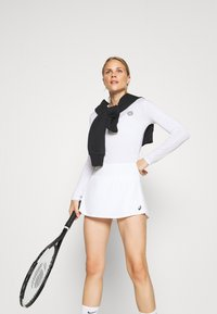 BIDI BADU - PIA TECH ROUNDNECK LONGSLEEVE - Sports shirt - white - 3