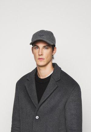 Cap - grey heather melange