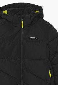 Icepeak - LOUDON UNISEX - Snowboard jacket - black - 3