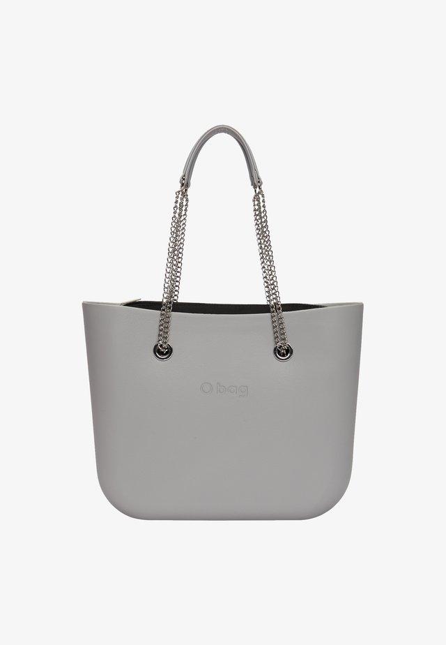 Shopping bag - grigio chiaro-metallo