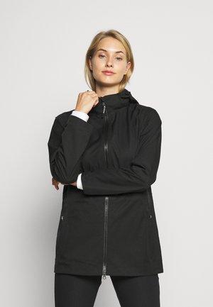 DELUGE UNLINED-JACKET - Outdoorová bunda - black