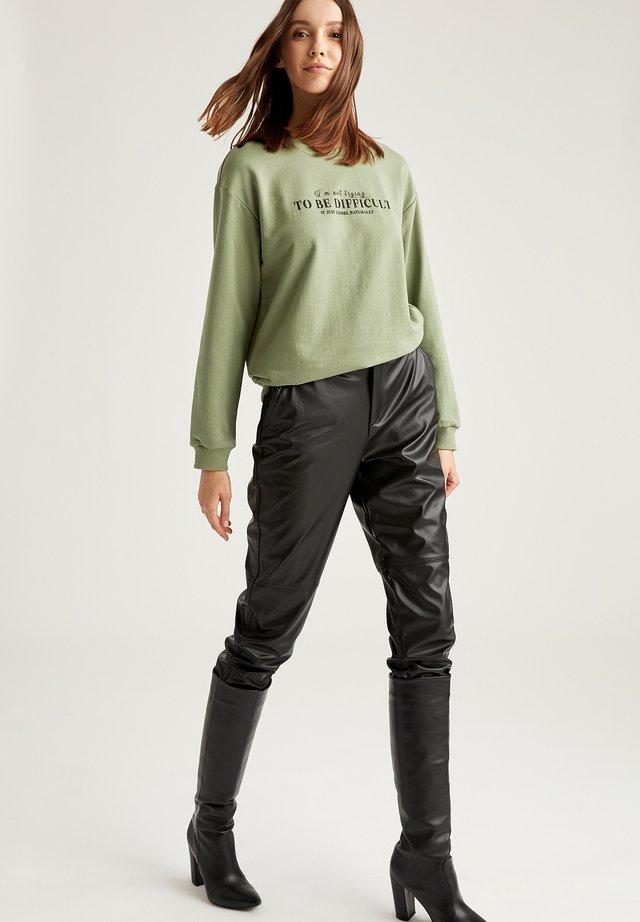 Sweatshirts - turquoise