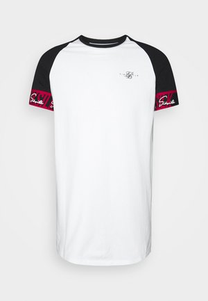 SCOPE TAPE TECH TEE - T-shirt med print - black/white