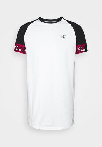 SCOPE TAPE TECH TEE - Print T-shirt - black/white