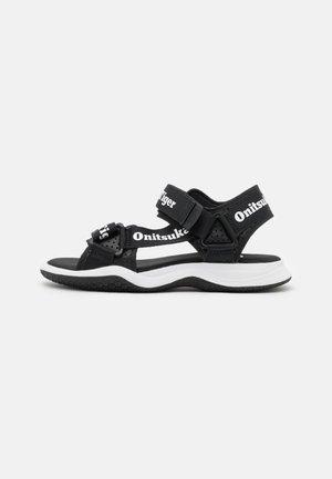 OHBORI STRAP - Sandals - black/white