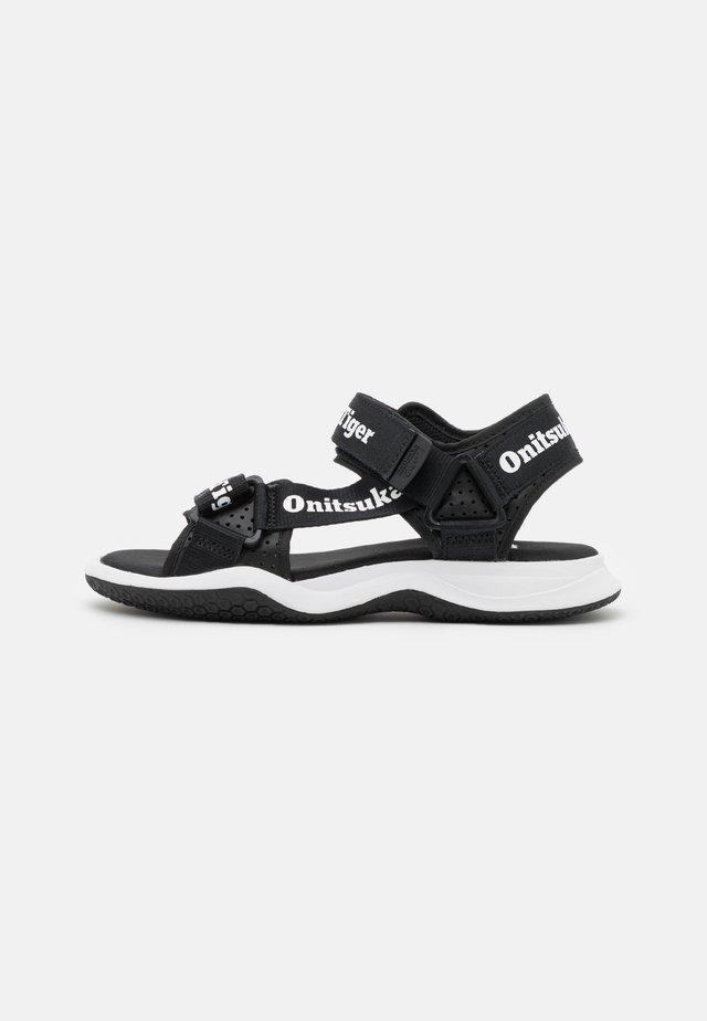 OHBORI STRAP UNISEX - Sandalen - black/white