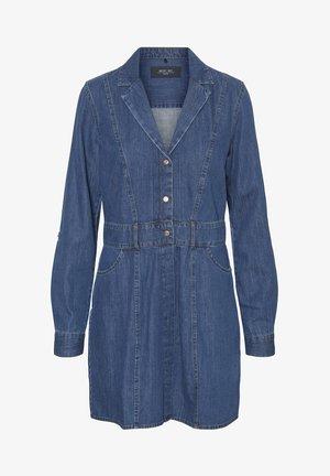 NMAVALON LS - Denim dress - medium blue denim