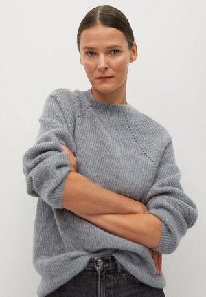 MIRROR - Sweter - šedá