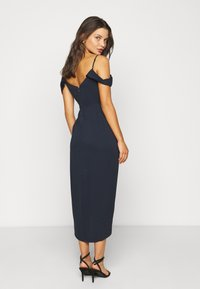 Forever New Petite - HADLEY WATERFALL MIDI - Cocktail dress / Party dress - navy - 2