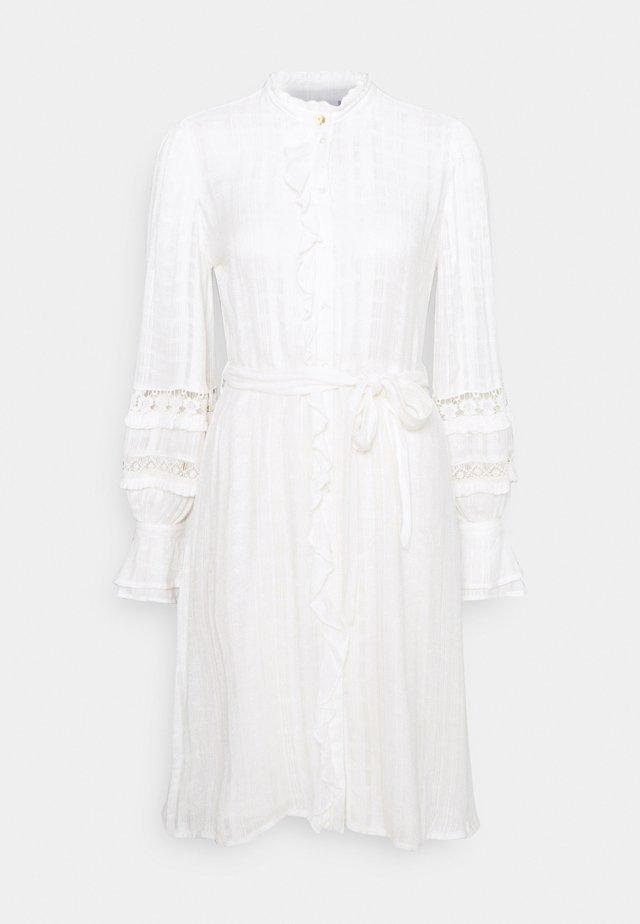 LEO DRESS - Blousejurk - cream white