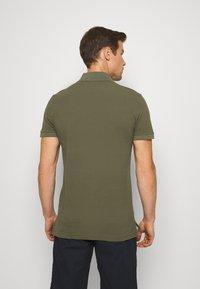 Benetton - SLIM - Polo shirt - dark green - 2