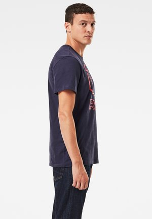 LOGO ORIGINALS - Print T-shirt - sartho blue