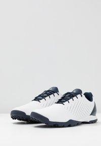 adidas Golf - ADIPURE SC - Golfové boty - footwear white/collegiate navy/true pink - 2