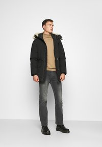Schott - NELSON - Winter coat - black - 1