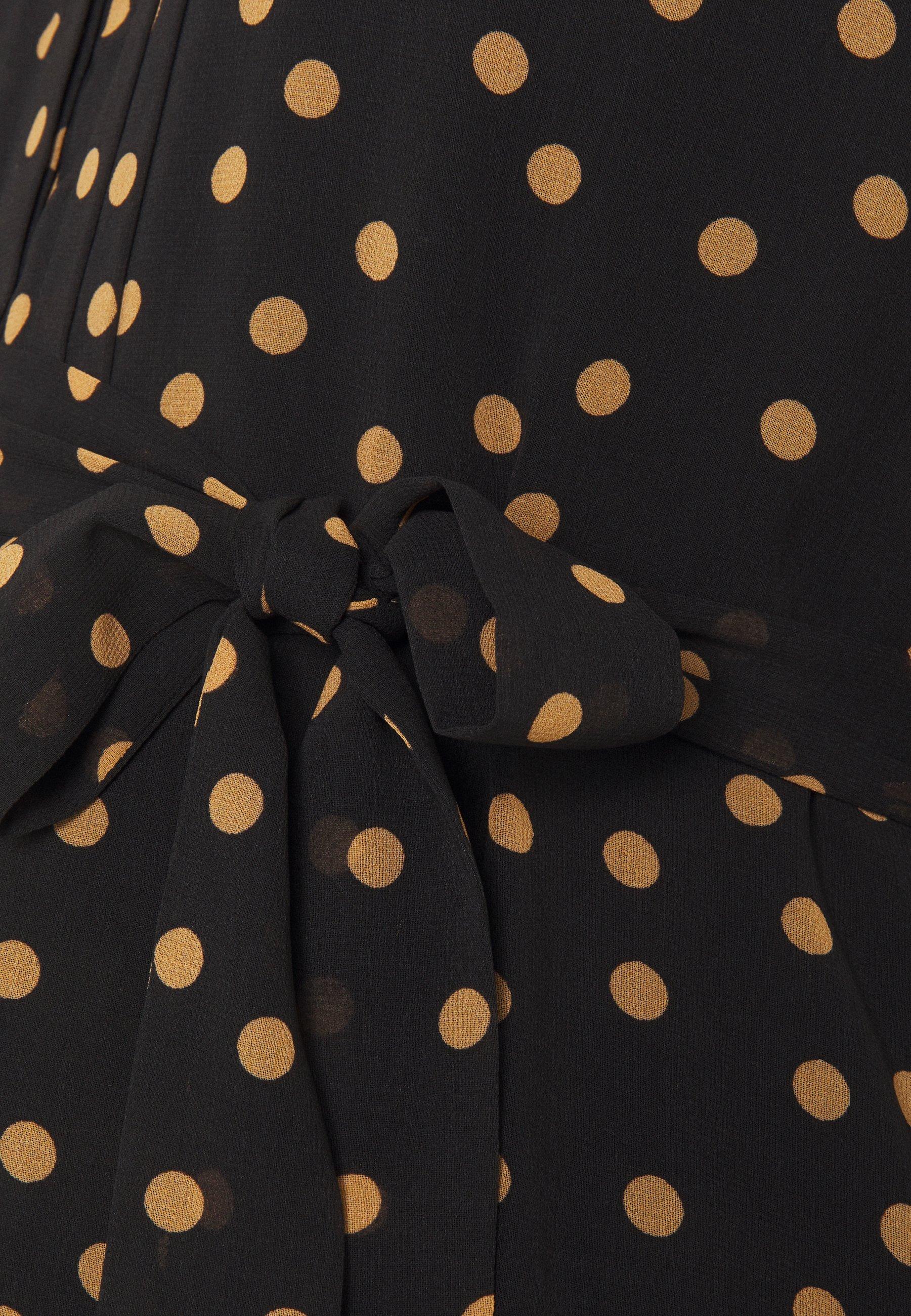 Seraphine ROSITA Blusenkleid black/schwarz