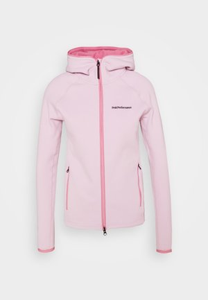 CHILL ZIP HOOD - Fleecová bunda - cold blush