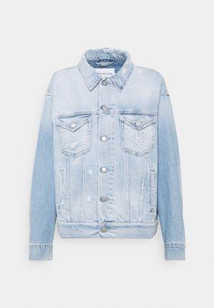 DAD JACKET - Denim jacket - blue