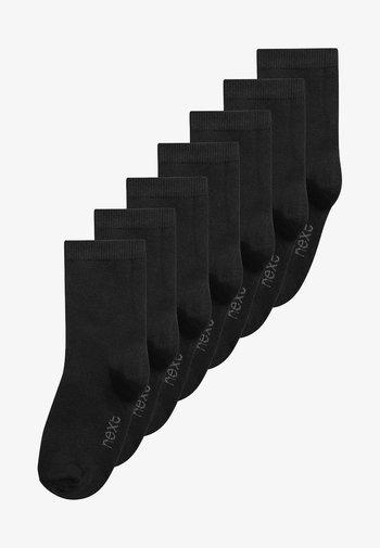 7 PACK - Socks - black
