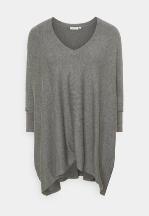 FOSNA - Jumper - medium grey melange