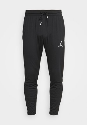 DRY AIR PANT - Joggebukse - black/white