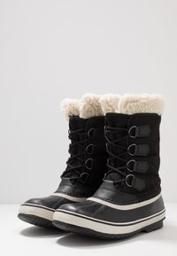 Sorel - CARNIVAL - Snowboots  - black/stone - 4