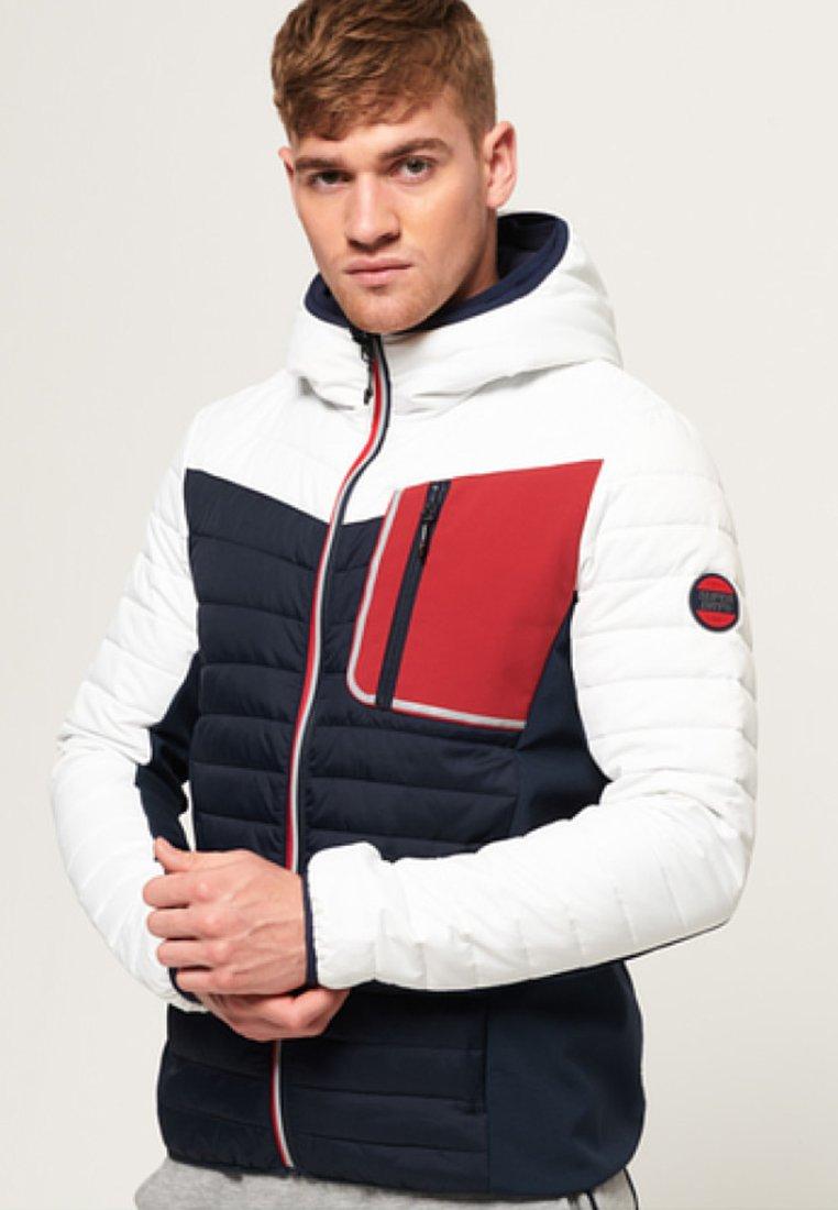 Superdry - Light jacket - white/black