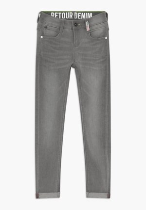 LUIGI - Skinny džíny - light grey denim