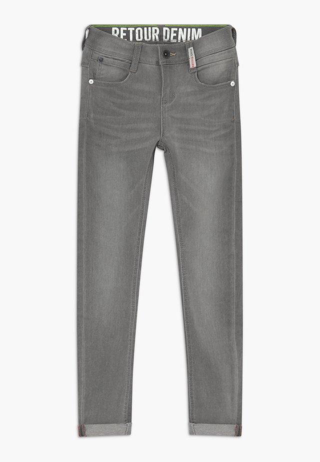 LUIGI - Jeans Skinny Fit - light grey denim