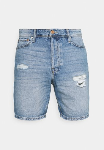 JJICHRIS JJORIGINAL - Jeansshorts - blue denim