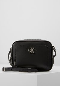 Calvin Klein Jeans - CAMERA BAG - Across body bag - black - 1