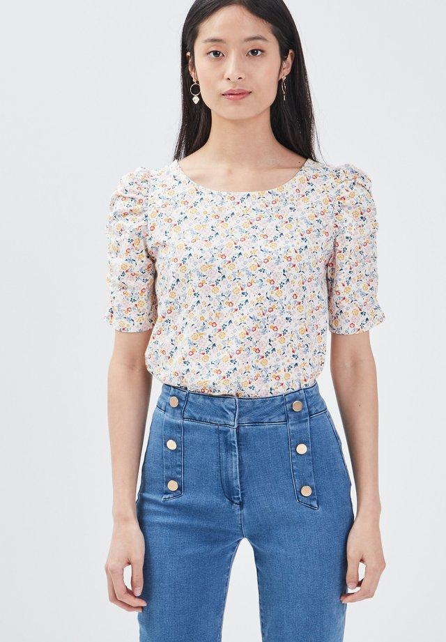 UMWELTBEWUSSTES  - T-shirt con stampa - blanc