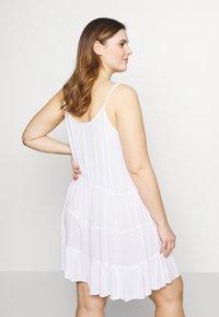 Simply Be - VALUE BEACH DRESSES  2 PACK  - Doplňky na pláž - white/black - 2