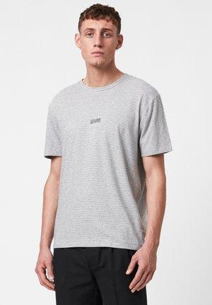 STATESTRIPE SS CREW - Print T-shirt - black