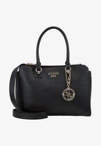 Guess - ALMA SOCIETY SATCHEL - Handbag - black - 5