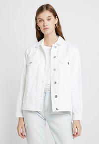 ONLY - ONLCAROLINE JACKET - Denim jacket - white - 0