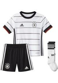 adidas Performance - DEUTSCHLAND DFB HEIMTRIKOT MINI - Oblečení národního týmu - white/black - 3