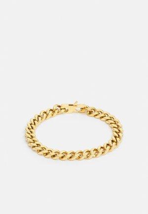 CURB UNISEX - Bracelet - gold-coloured shiny