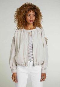 Oui - Outdoor jacket - light stone - 0