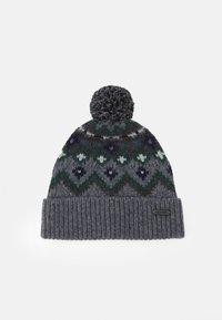 Belstaff - FAIRISLE HAT UNISEX - Čepice - grey/navy/green - 0